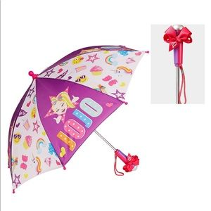 Jojo Siwa Sticker Bow Girls Umbrella